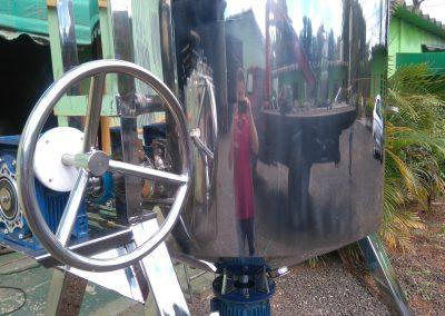 Reator basculante de 500 litros inox 11