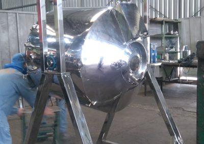 Reator basculante de 500 litros inox 3