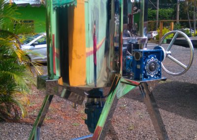 Reator basculante de 500 litros inox 4