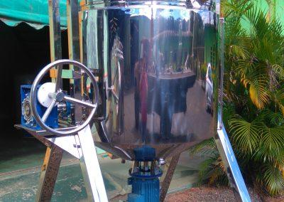 Reator basculante de 500 litros inox 5