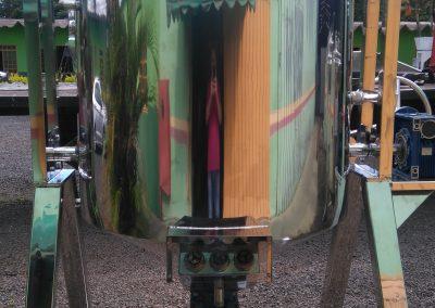 Reator basculante de 500 litros inox 6