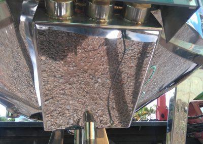 Reator basculante de 500 litros inox caixa de resistencias