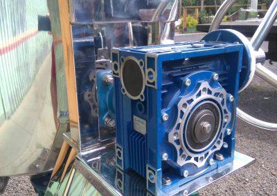 Reator basculante de 500 litros inox volante