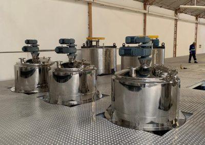 Misturadores e reatores de processo inox (12)