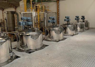 Misturadores e reatores de processo inox (13)