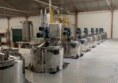 Misturadores e reatores de processo inox (3)